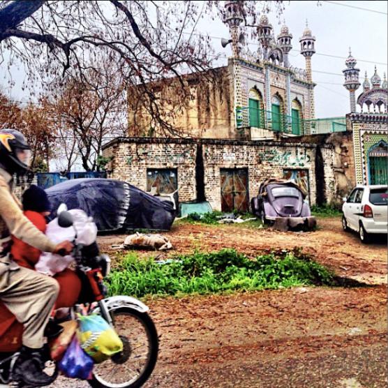 A little outside Lahore