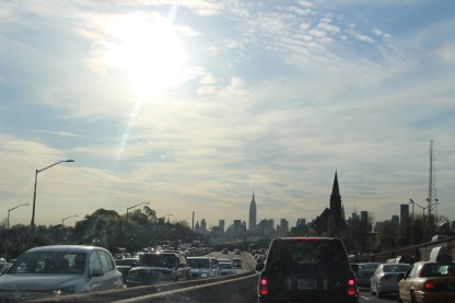Goodbye Flushing! The view on the drive back to NYC