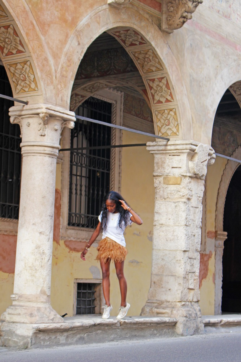 in Vicenza historical center. Photo by designer, Min Wu