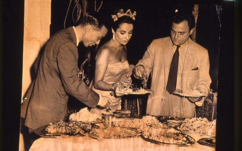 Elizabeth Taylor at Raffles in 1957. Courtesy of Raffles.