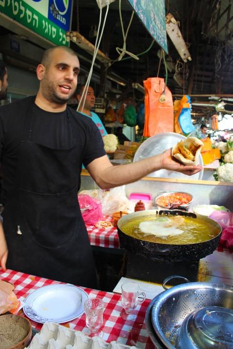 Carmel Market - Bureeka Guy