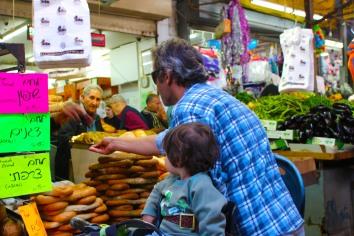 Carmel Market People