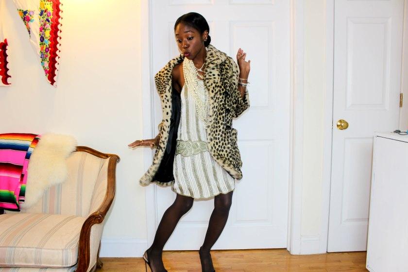 Nneya Richards Topshop Kate Moss Dress