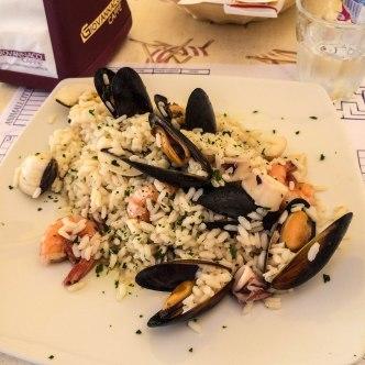 one of my favorite Italian Risos with frutti di Mare