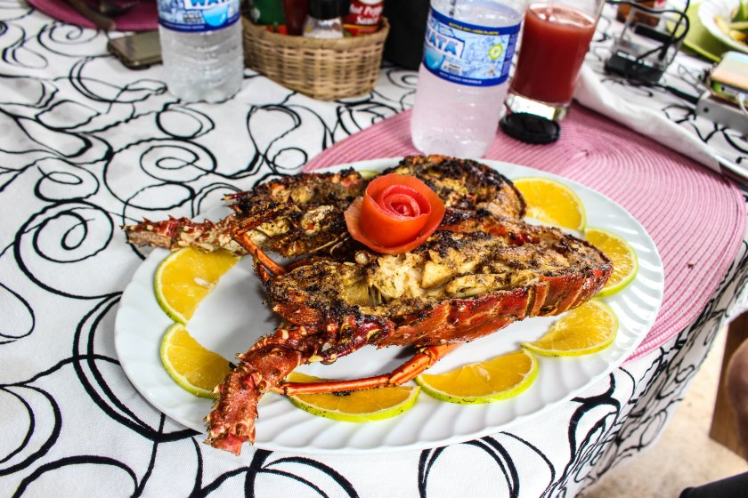 Grilled Lobster.