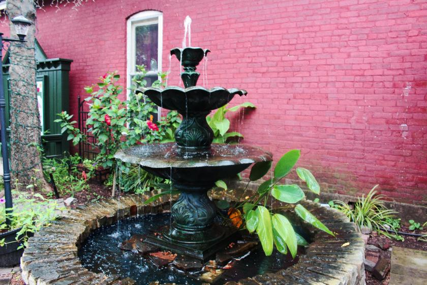 Fountain at Monell's