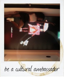 be a cultural ambassador polaroid Nneya Richards