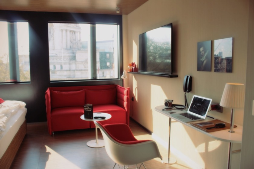 citizenM room in afternoon sun Nneya Richards
