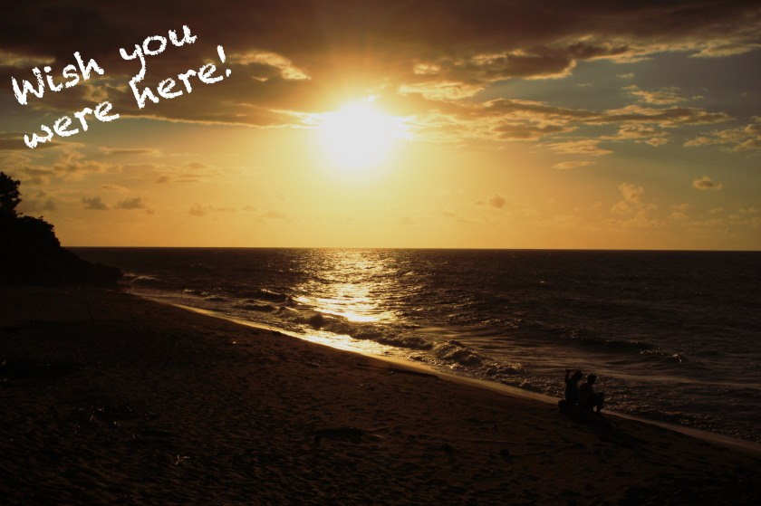 sunset by Nneya Richards wish you were here edit