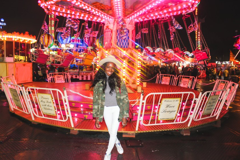 Pink Carousel by Nneya Richards
