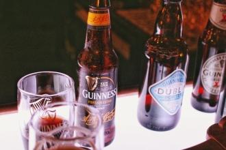 Guinness bottles by Nneya Richards