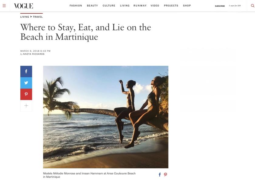 Vogue.com - 3.7.18 - Martinique copy